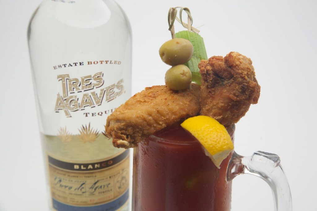 Bloody Maria with chicken