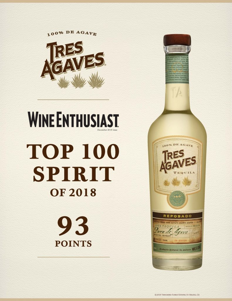 Tres Agave - Top 100 Spirit of 2018