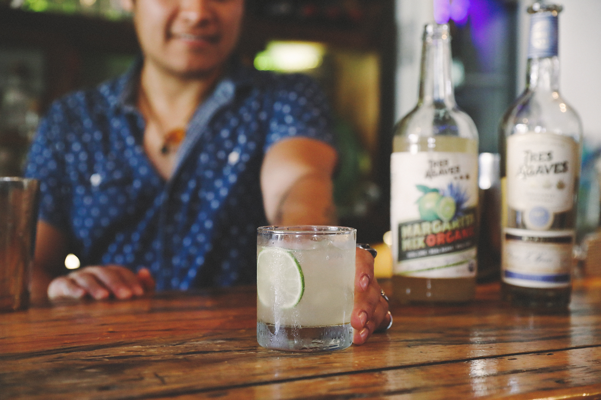 Organic margaritas are only a few ingredients away.